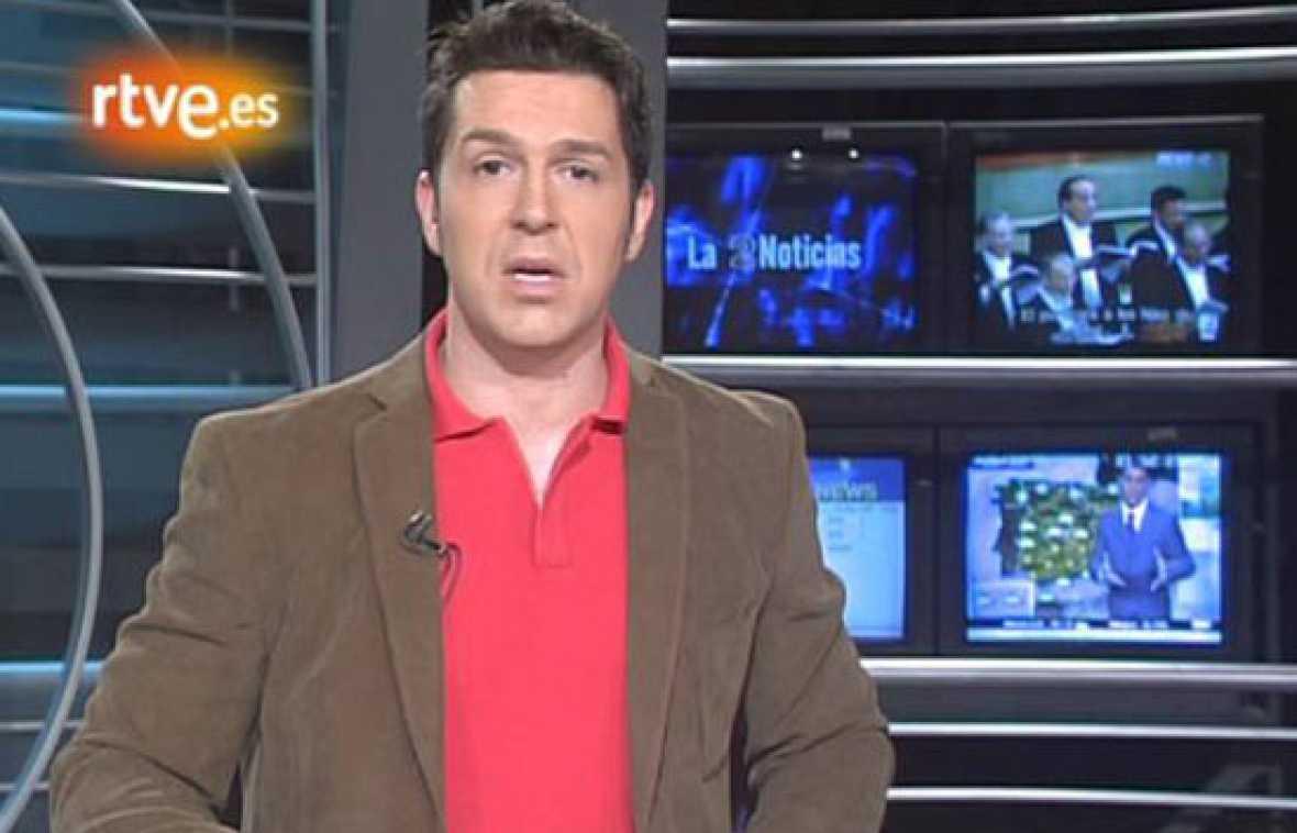 Los comienzos de José Carlos Gallardo en 'La2 Noticias' (diciembre 2005)