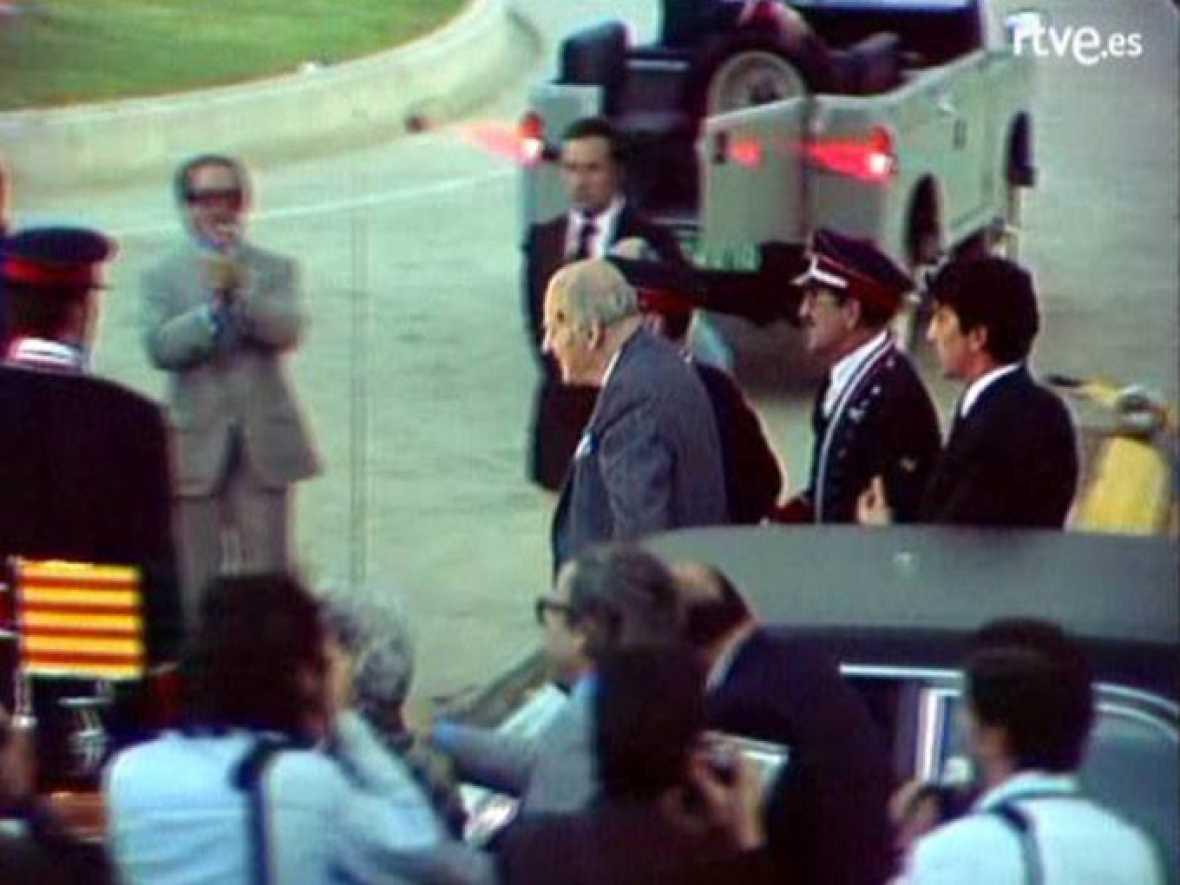 Arxiu TVE Catalunya - El retorn del president al 1977