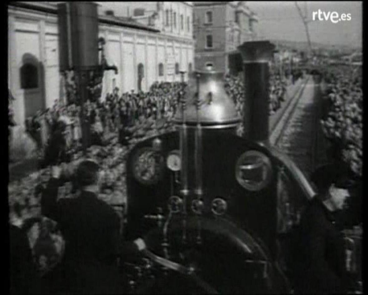 El tren de Barcelona a Mataró