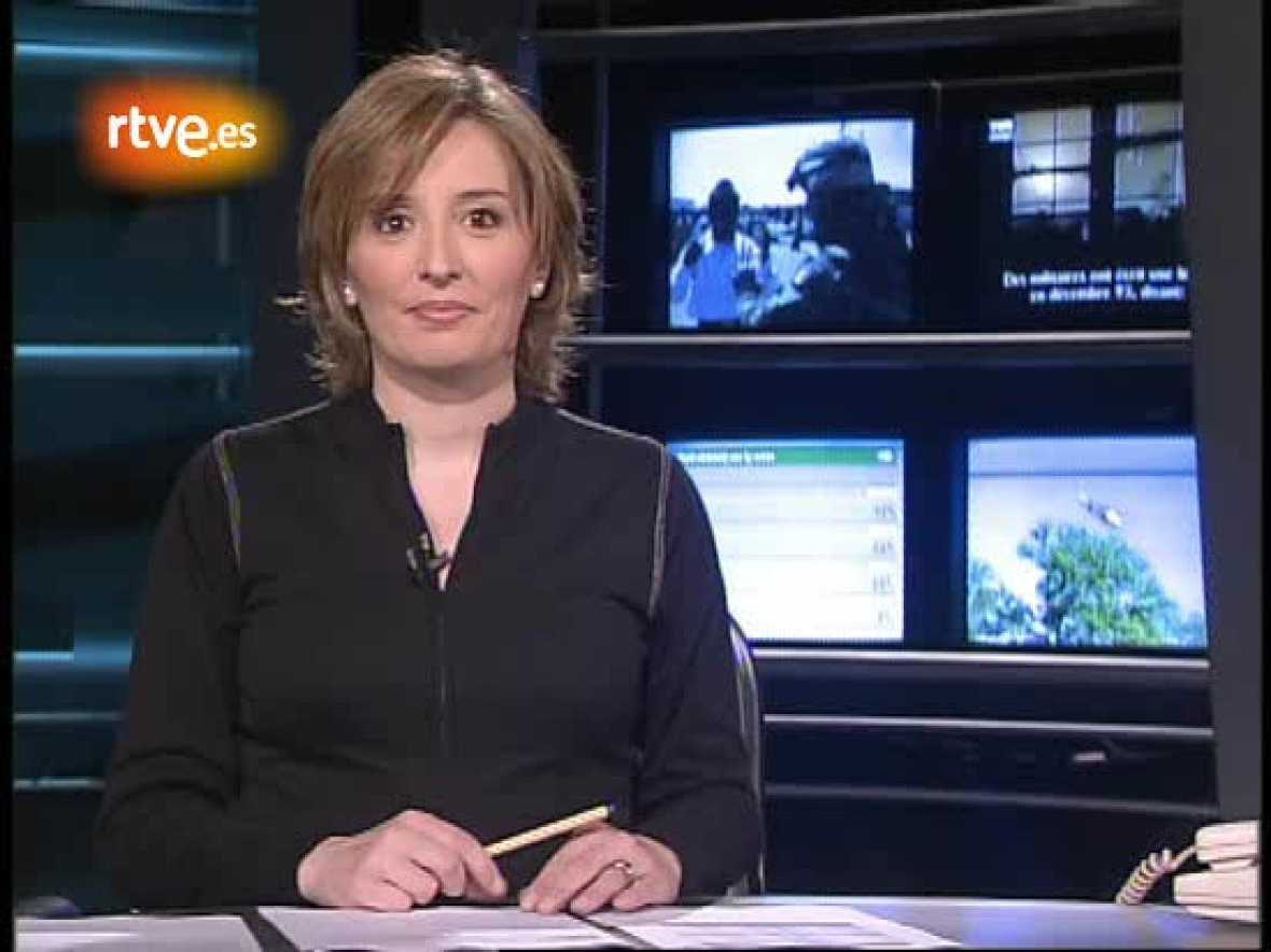 Los comienzos de Beatriz Ariño en La 2 Noticias. Beatriz es ahora presentadora de Informe Semanal.