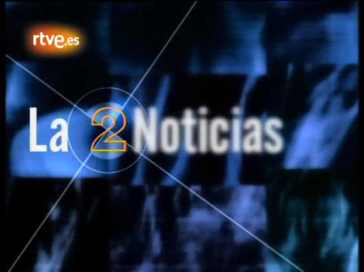 La 2 Noticias, 15 Aniversario: El primer día de José Carlos Gallardo como presentador de La 2 Noticias.