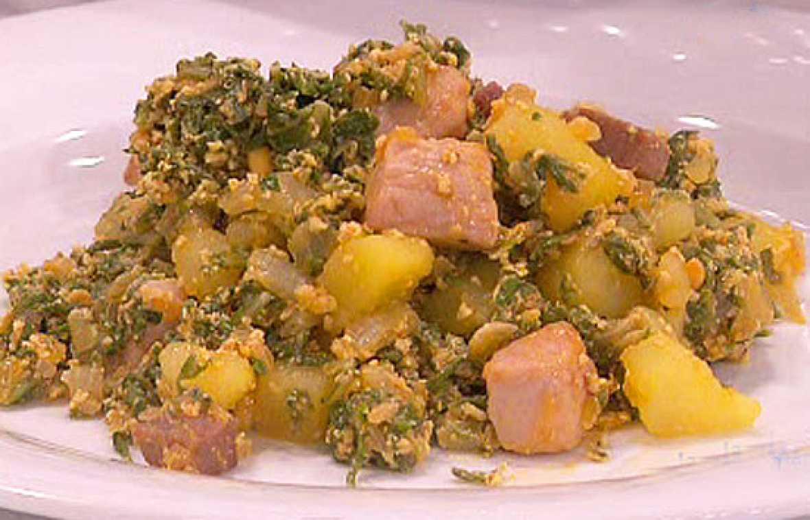 Saber cocinar acelgas con patatas saber vivir rtve for Cocinar repollo con patatas