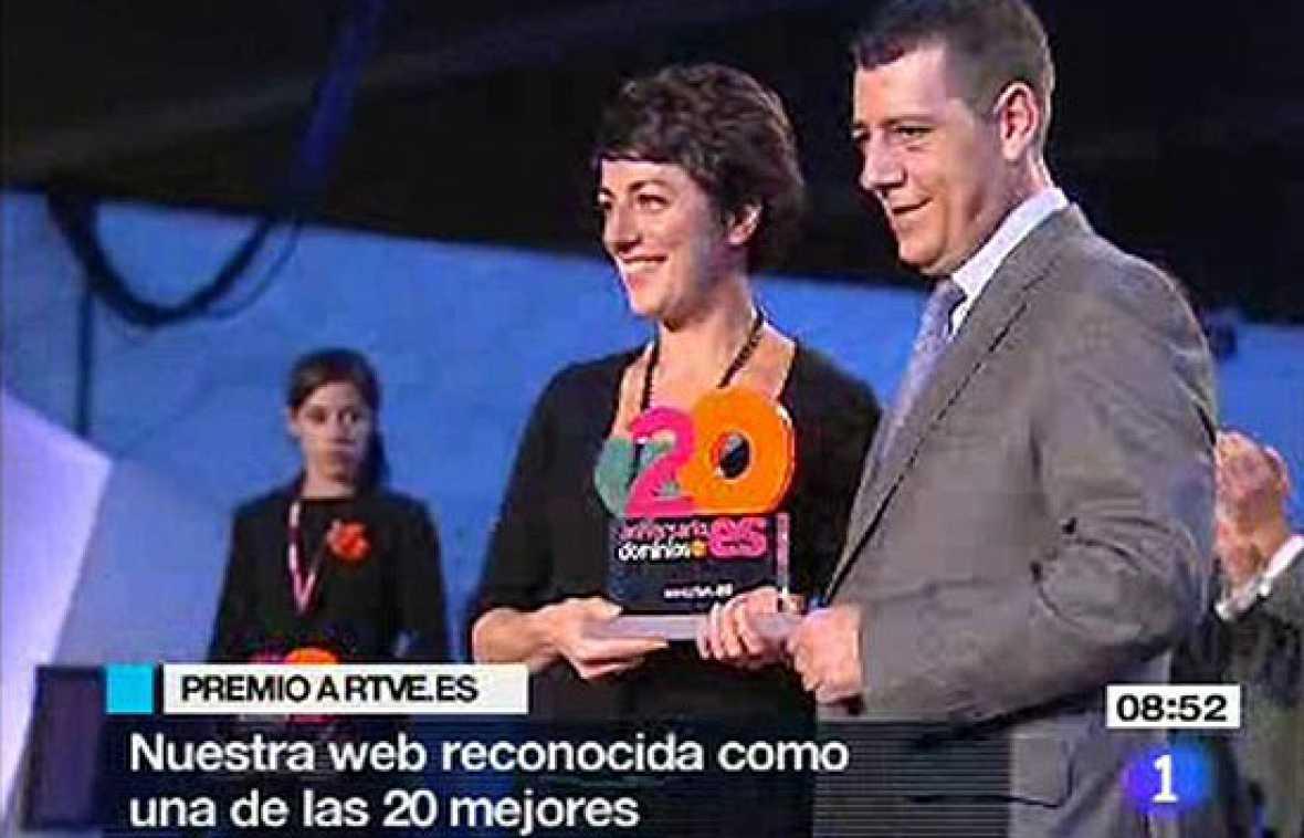 RTVE.es, entre las 20 mejores webs .es