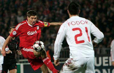 El Liverpool, eliminado en Champions