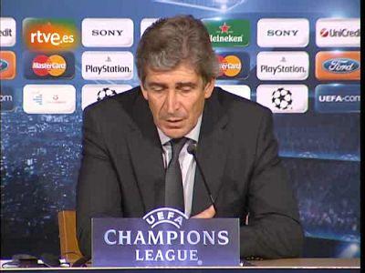 """Pellegrini: """"Este no es el fútbol que queremos"""""""