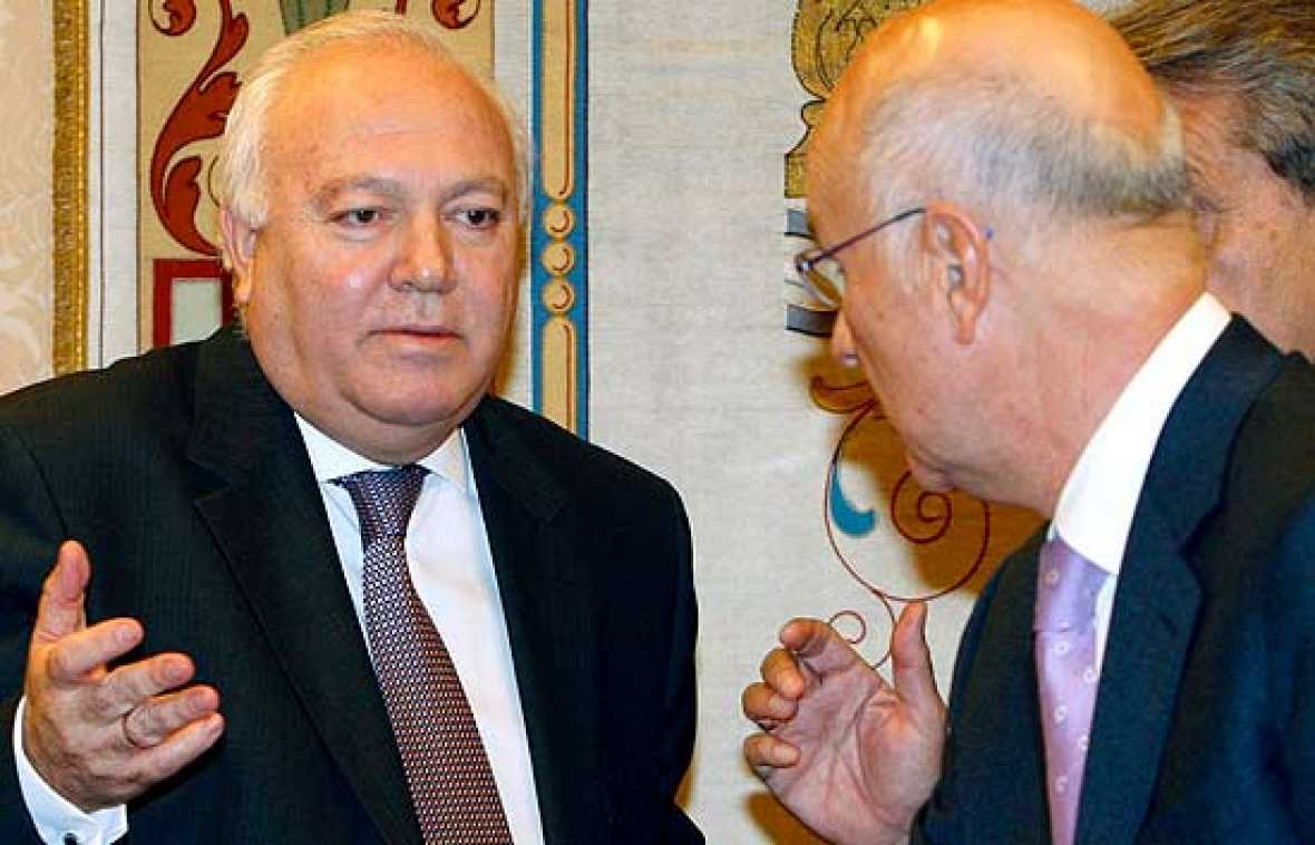 Moratinos ha tenido que reconocer en el Congreso que el Gobierno conocía