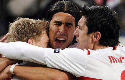 El rival que le ha tocado al Barça en octavos de final de la Champions, el Stuttgart, jugó junto con el Sevilla la fase de grupos.