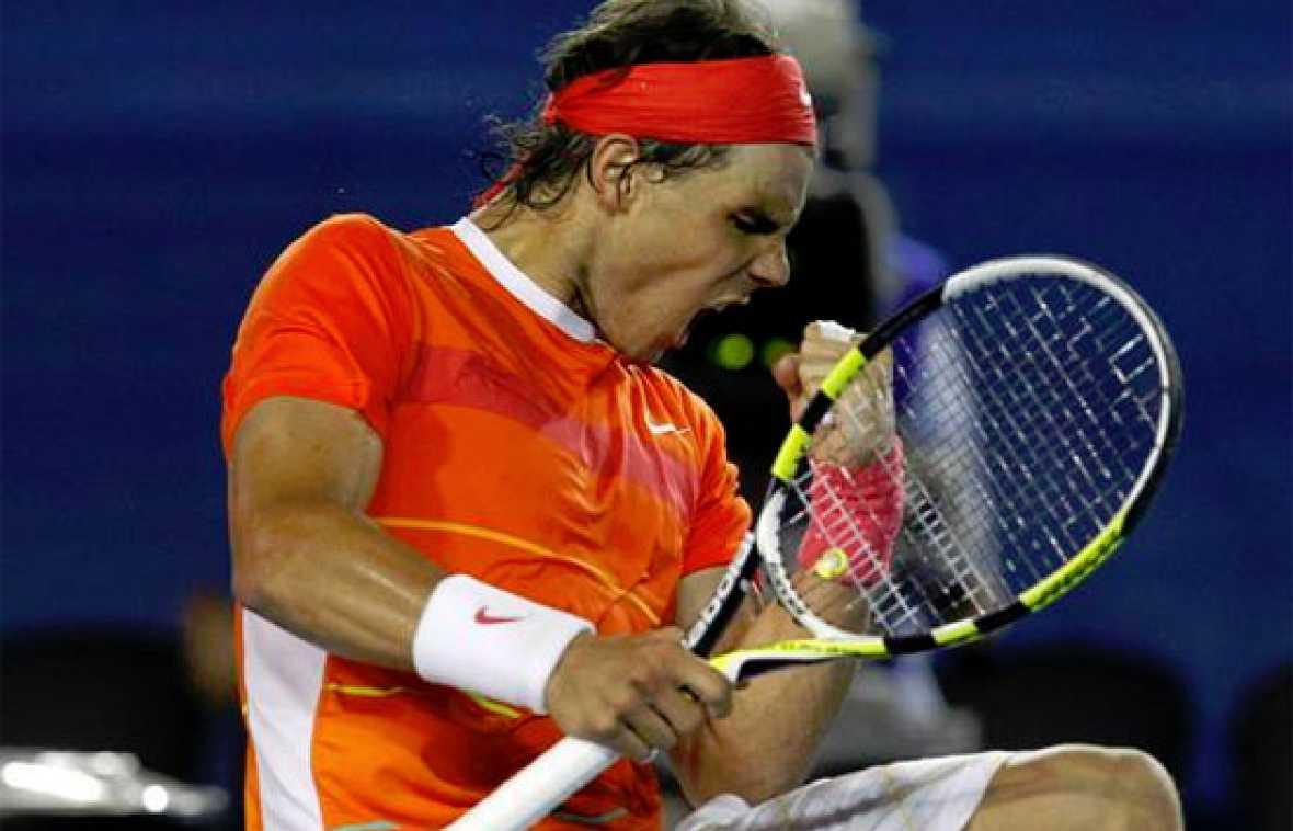 Rafa Nadal ha jugado el 500º partido de su carrera, y ha celebrado este aniversario venciendo al alemán Phillip Kohlschreiber.