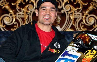 El atleta español de snowcross, Jordi Font, acude a Vancouver con la intención de mejorar la cuarta plaza que consiguió en Torino 2006.