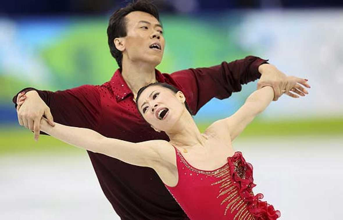 Final patinaje artístico por parejas (16/02/2010)