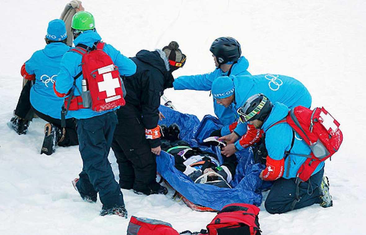 La snowboarder Queralt Castellet no pudo participar en la final de Half pipe pese a haberse clasificado entre las tres mejores por culpa del accidente sufrido en un entrenamiento previo a la final. Castellet fue traslada al hospital porque el golpe e