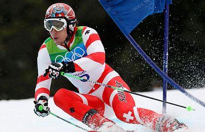 El joven suizo, Janka, se hizo con la medalla de oro en la prueba de Slalom en los JJOO de invierno de Vancouver 2010.