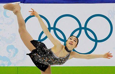 El mejor programa de la clasificación para la final del Patinaje Artístico femenino Individual fue el realizado por la coreana Kim Yu-Na.