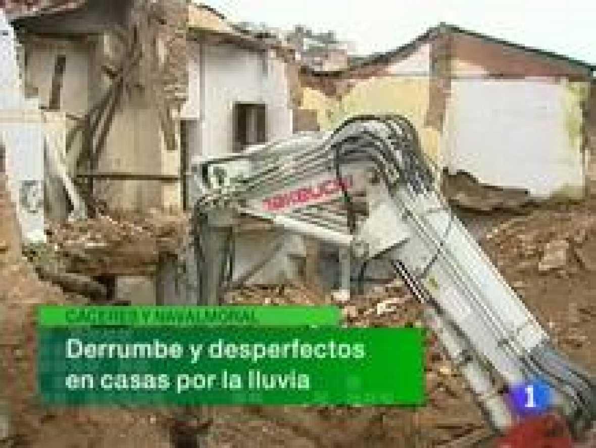 Noticias de Extremadura. Informativo Territorial de Extremadura. (24/02/10)