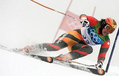 La esquiadora granadina María José Rienda se despide ante las cámaras de TVE de los Juegos Olímpicos después de cuatro participaciones. Sin embargo avisa de que aún se mantendrá un año más en activo.
