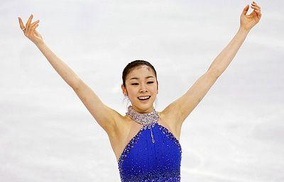 La patinadora coreana Kim Yu-Na cumplió con los pronósticos y no dio opción a la hora de luchar por la medalla de oro.