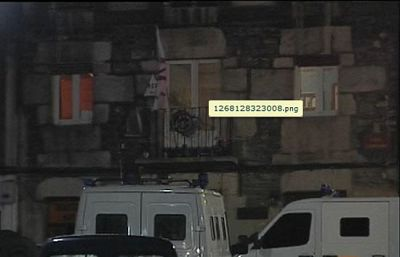 Un detenido en Vitoria en una operación de la Ertzaintza contra la 'kale borroka'