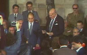 El Parlament l'any 1981