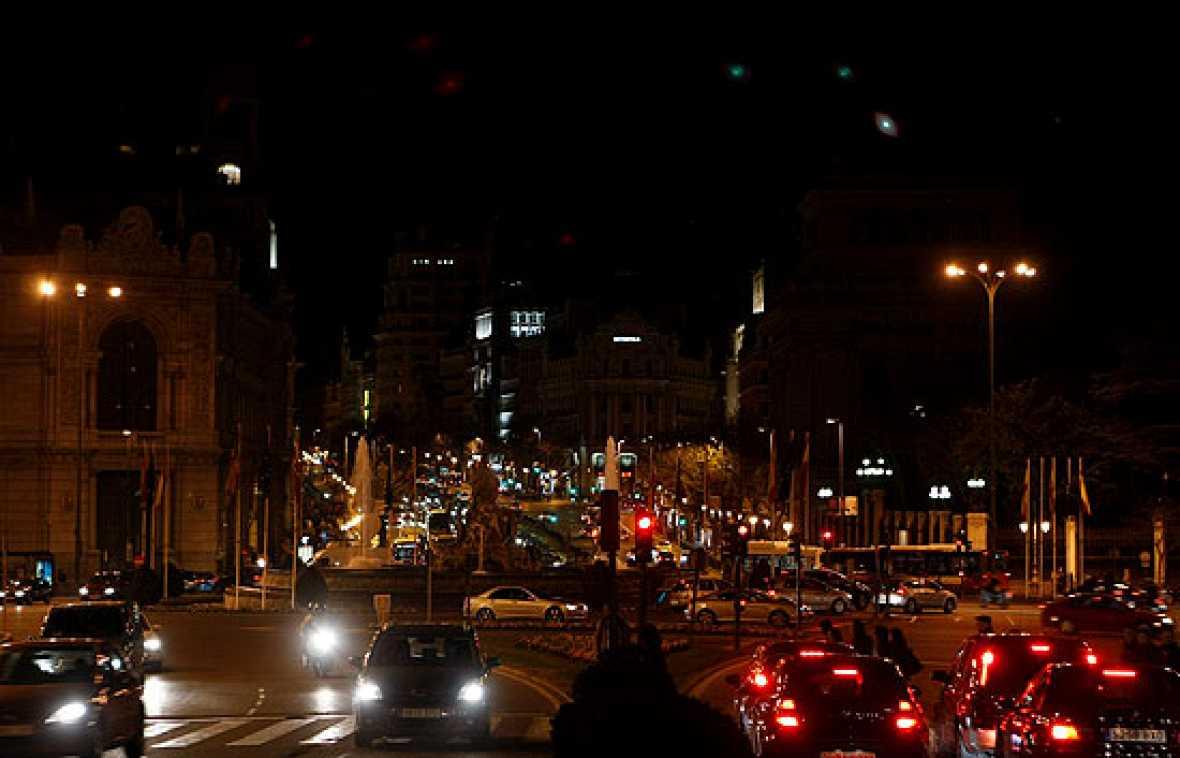 En España 165 ciudades se han sumado al apagón