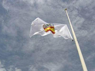 Bandera a media asta en el deporte