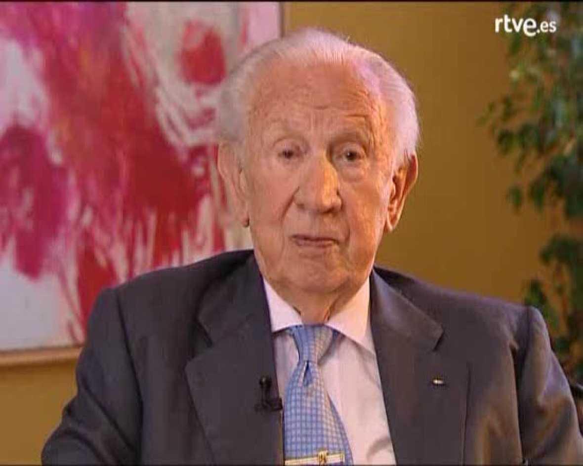Samaranch felicita a TVE pel seu mig segle d'existència