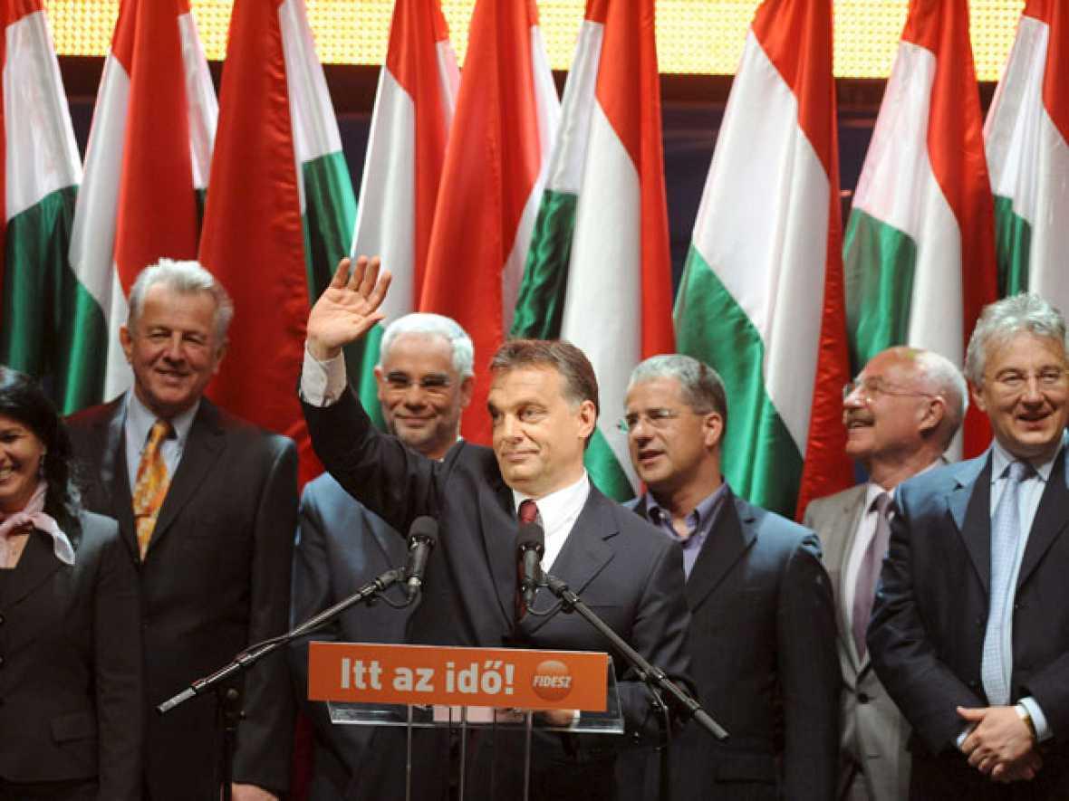 Victoria de la derecha en Hungría