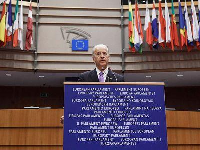 Biden insiste en Estrasburgo en la importancia que tiene la alianza EEUU-UE