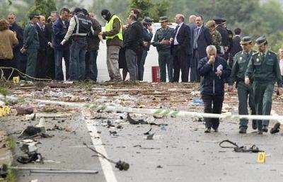 100 kilos de explosivo acaban con la vida de un guardia civil