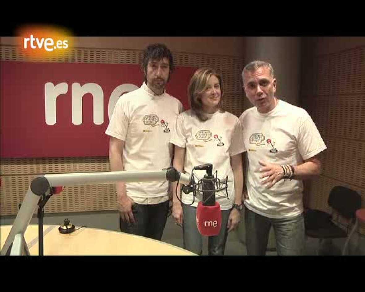 Lucas, Toni y Pepa, contigo, 'Juntos por Haití'