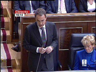 El presidente del Gobierno ha prometido firmeza ante el terrorismo en la primera sesión de control en el Congreso de los Diputados.