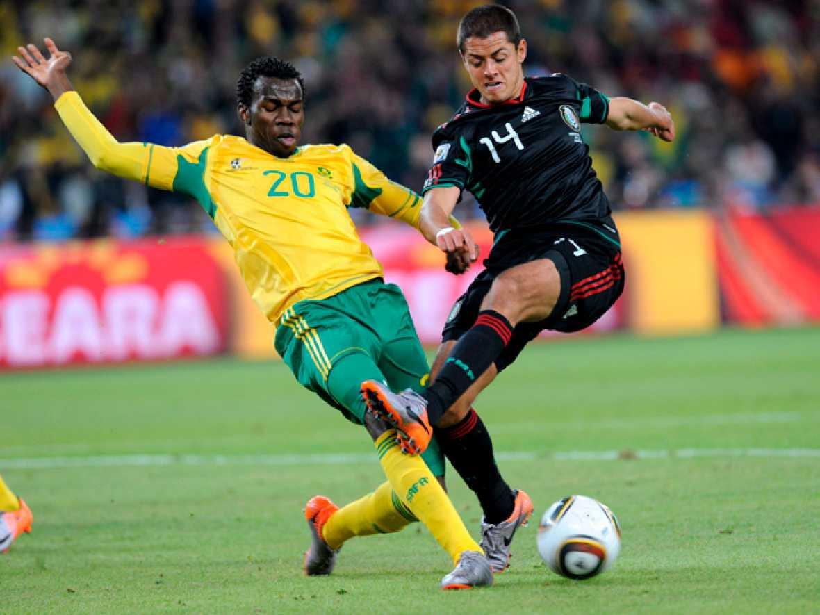 El partido inaugural del Mundial, que enfrentó a los combinados de Sudáfrica y México, acabó con empate a uno.