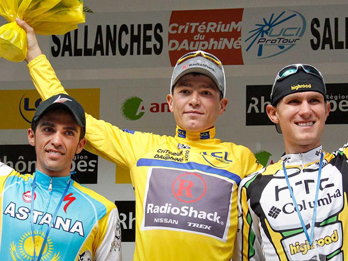 El esloveno de Radioshak, Brajkovic, se ha impuesto en la general final de la Dauphiné Liberé, la prueba 'prólogo' del Tour de Francia, en la que el español Alberto Contador ha terminado en segunda posición.