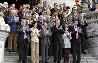 Concentraciones en varios ayuntamientos españoles