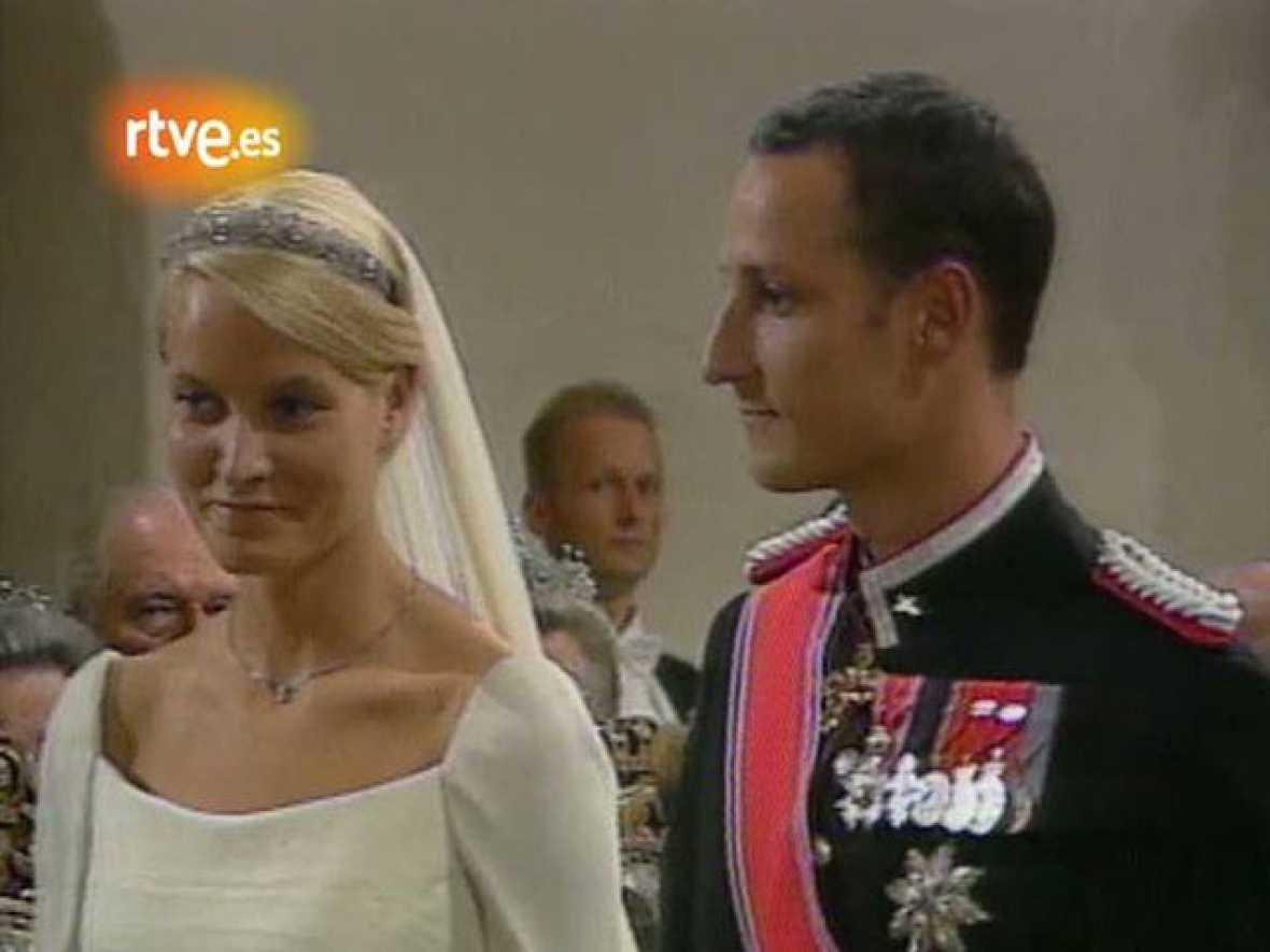 Boda de los príncipes de Noruega