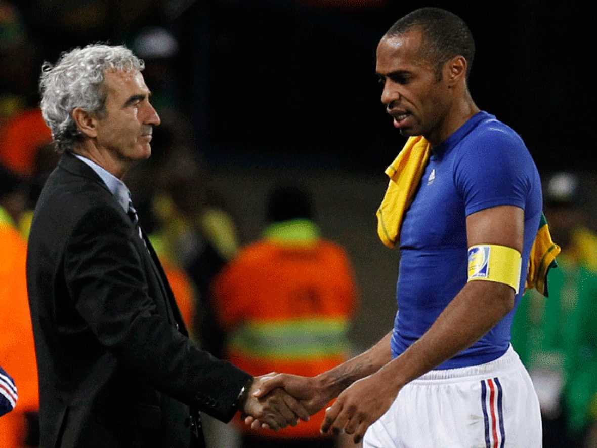 Francia pierde 1-2 ante Sudáfrica