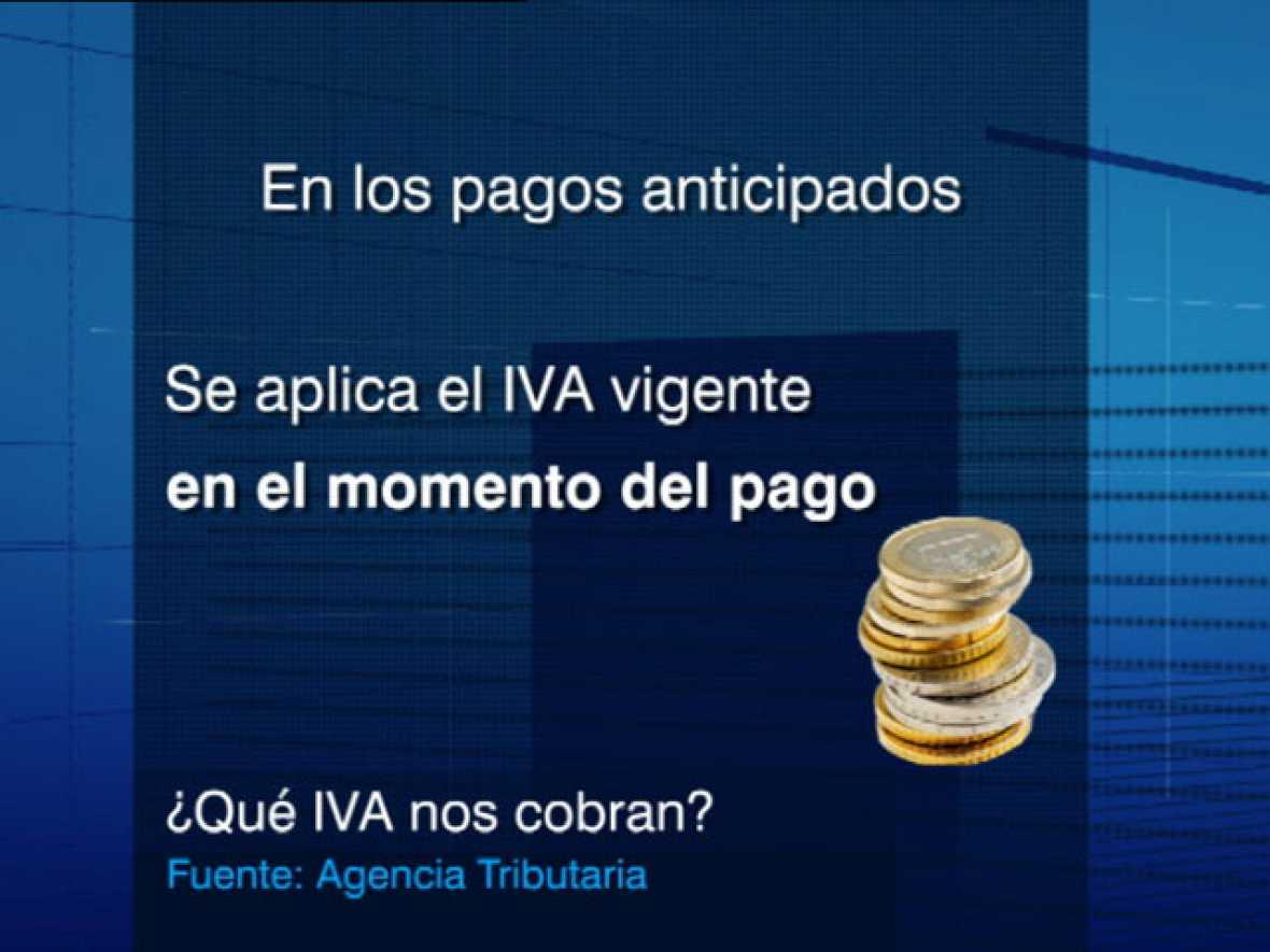 El IVA sube en España el próximo 1 de julio