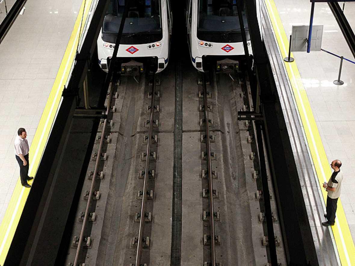 Metro de Madrid cierra sus estaciones por la huelga