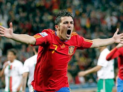 Villa, el goleador de oro de este Mundial