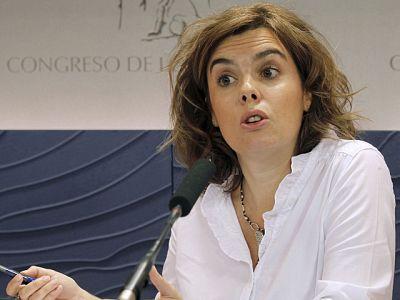 Soraya Saénz de Santamaría y Bibiana Aído se posicionan respecto a la decisión del Gobierno de Murcia