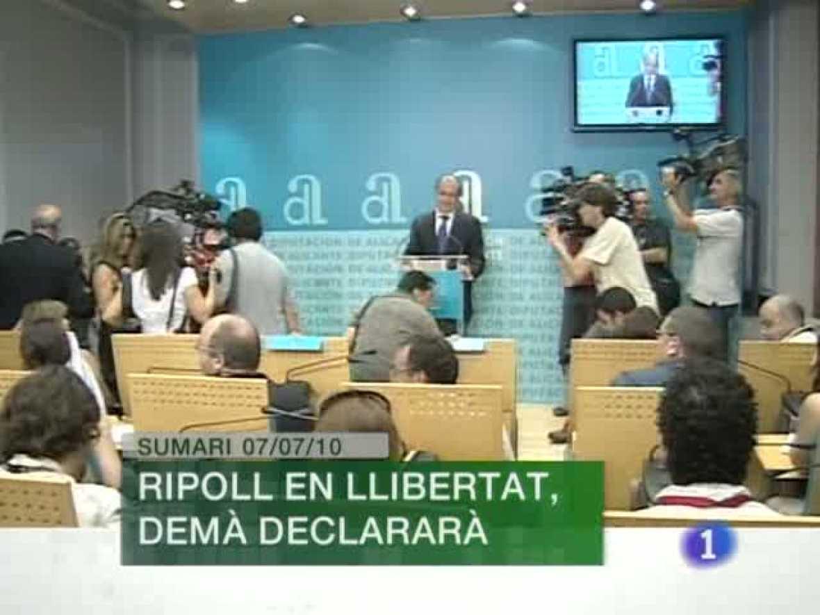 L'Informatiu. Informativo Territorial de la C. Valenciana (07/07/10)
