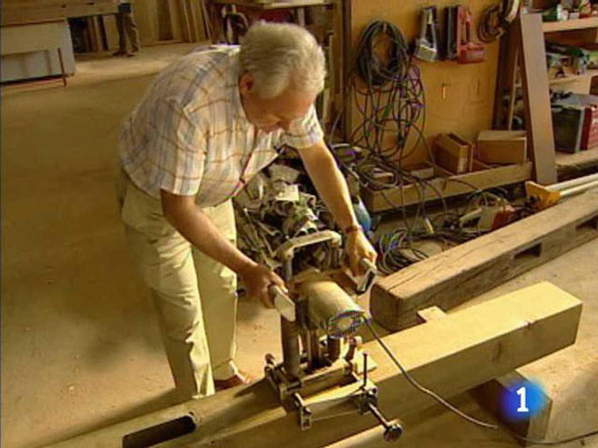 La elaboraci n de los tablones de madera para el vallado - Tablones de madera segunda mano ...