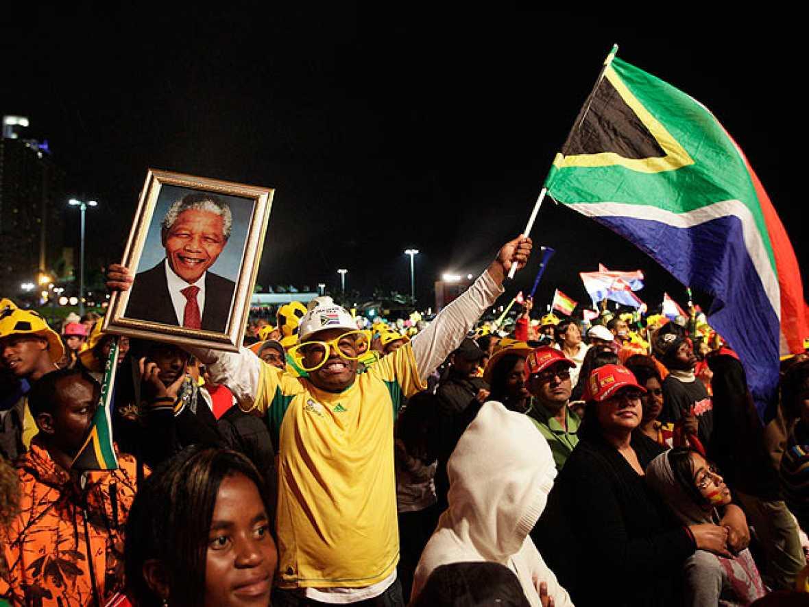 Sudáfrica disfruta del legado de reconciliación de Nelson Mandela.