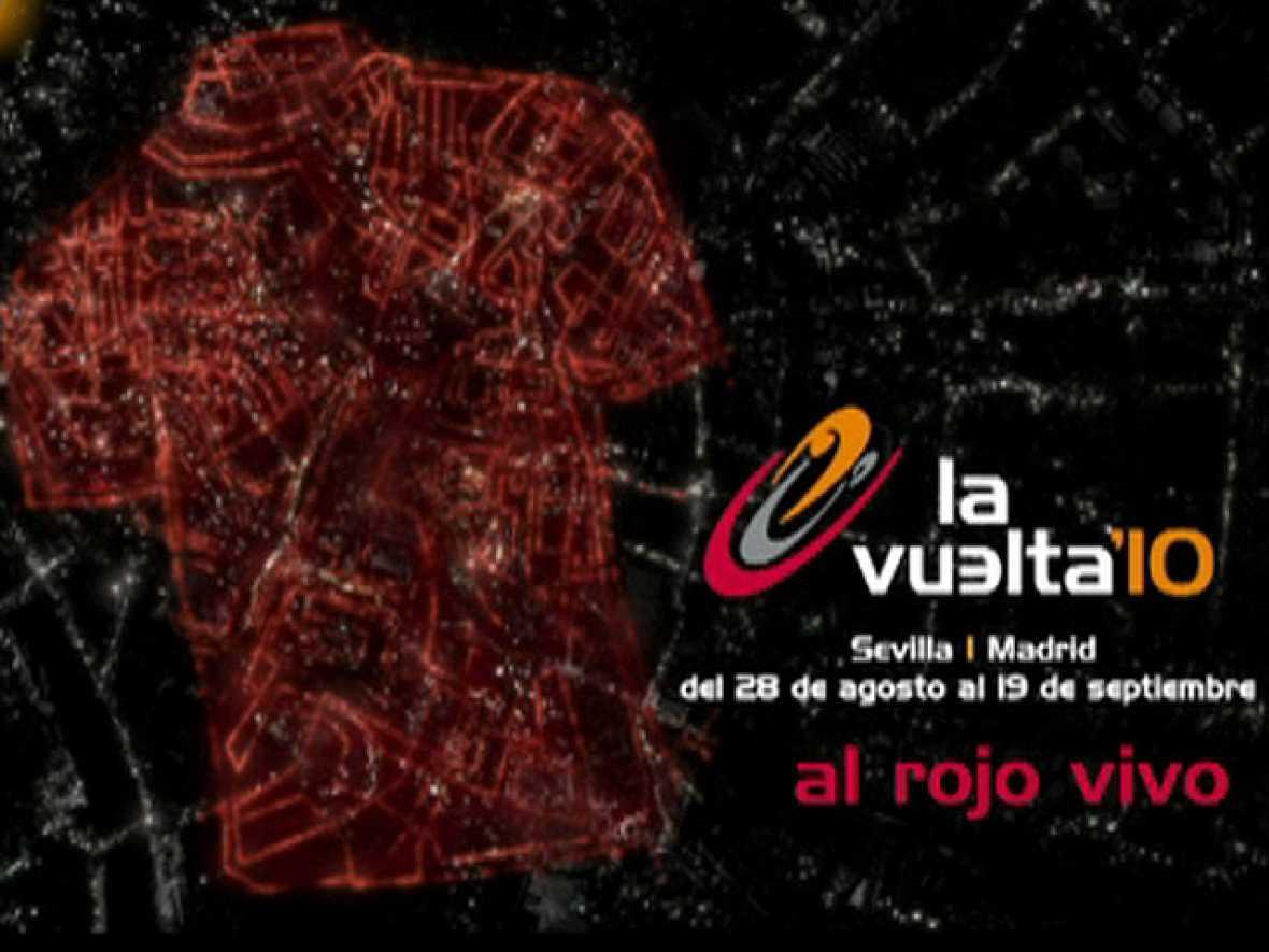 Anuncio de La Vuelta ciclista a España que en septiembre se podrá seguir en TVE.