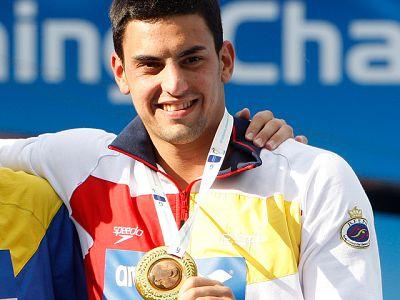 Javier Illana ha ganado la medalla de bronce en saltos de trampolín de un metro