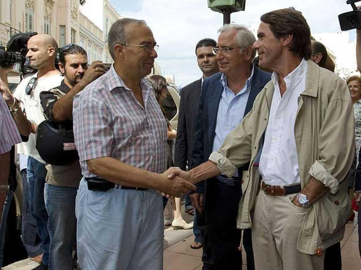 Aznar visita Melilla