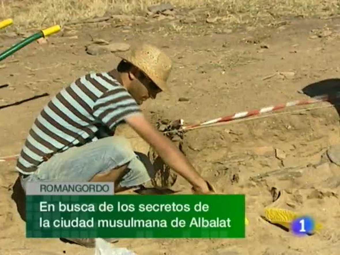 Noticias de Extremadura. Informativo Territorial de Extremadura. (24/08/2010)