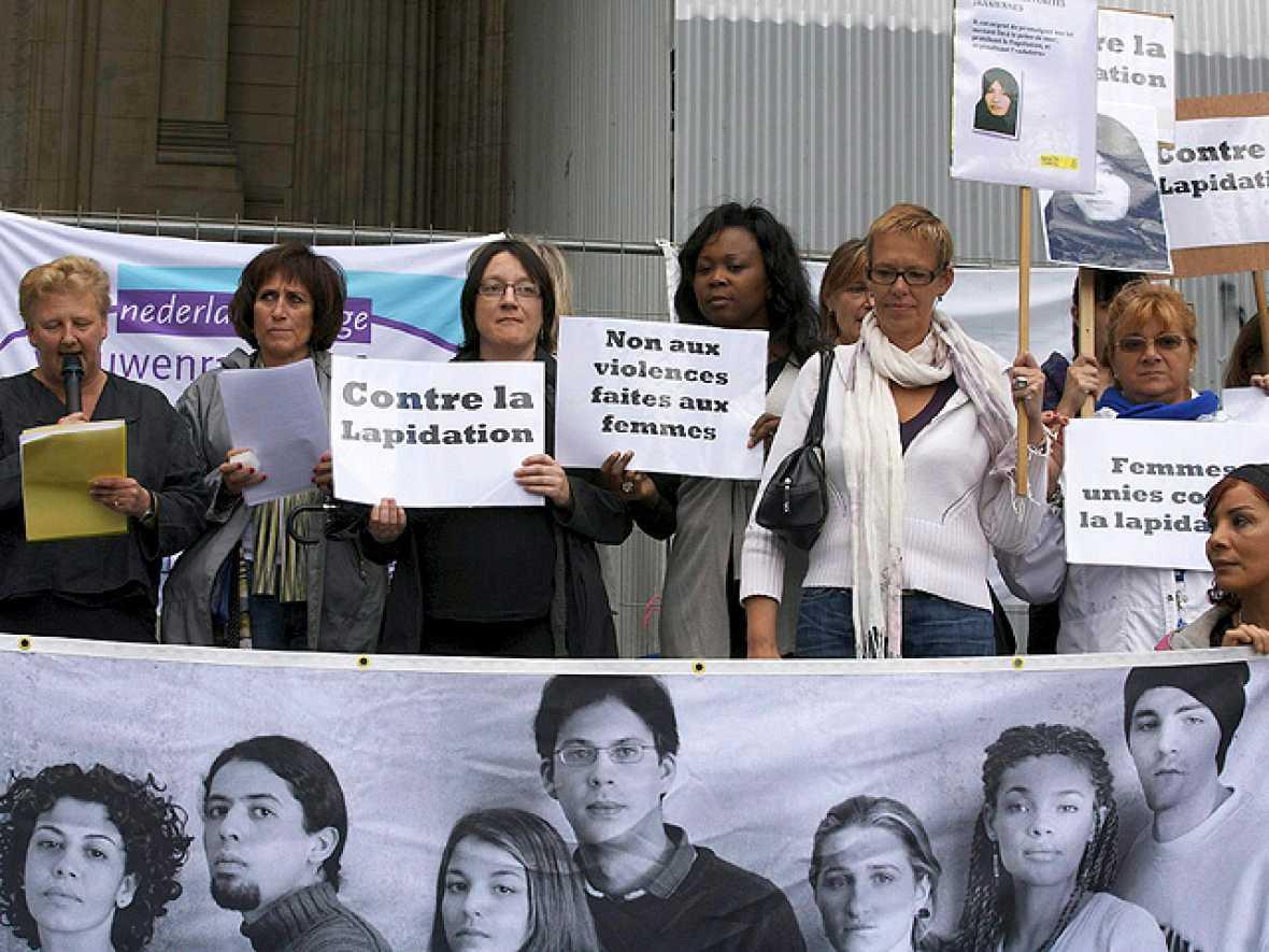 Manifestaciones para acabar con la lapidación de Ashtiani