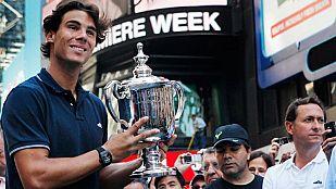 """Rafa Nadal entra en el grupo de los mitos del tenis al completar el """"Grand Slam"""""""