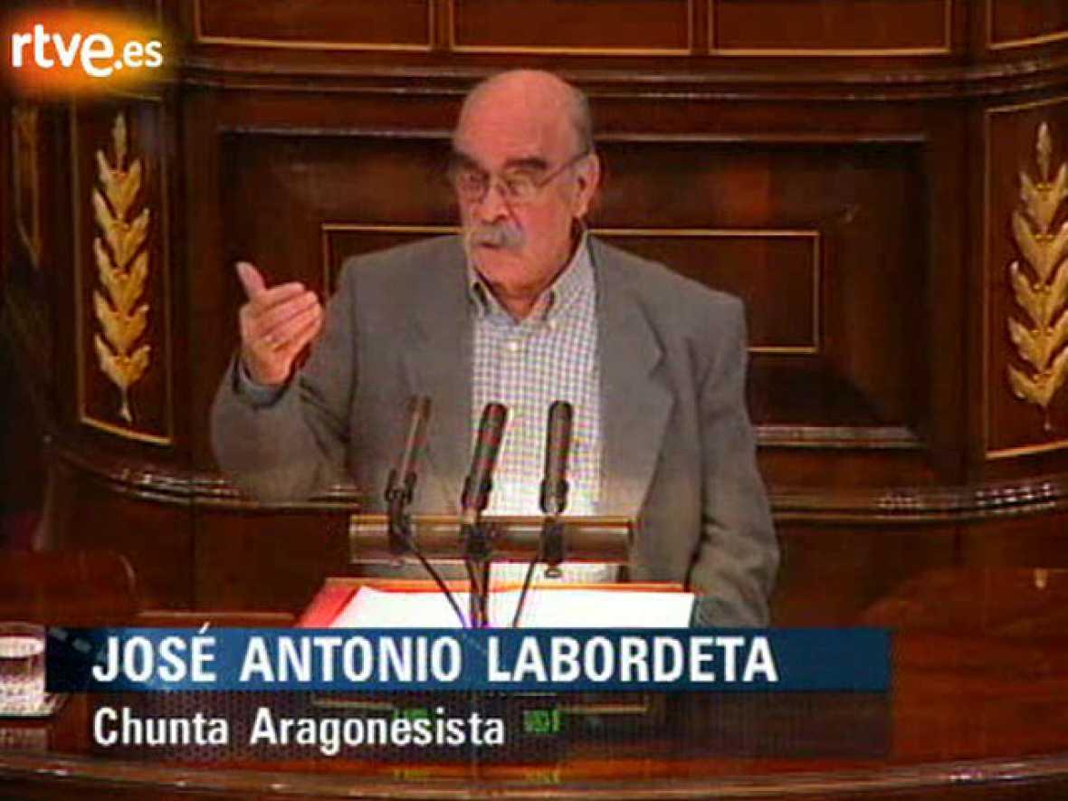Enfrentamiento Labordeta-Cascos
