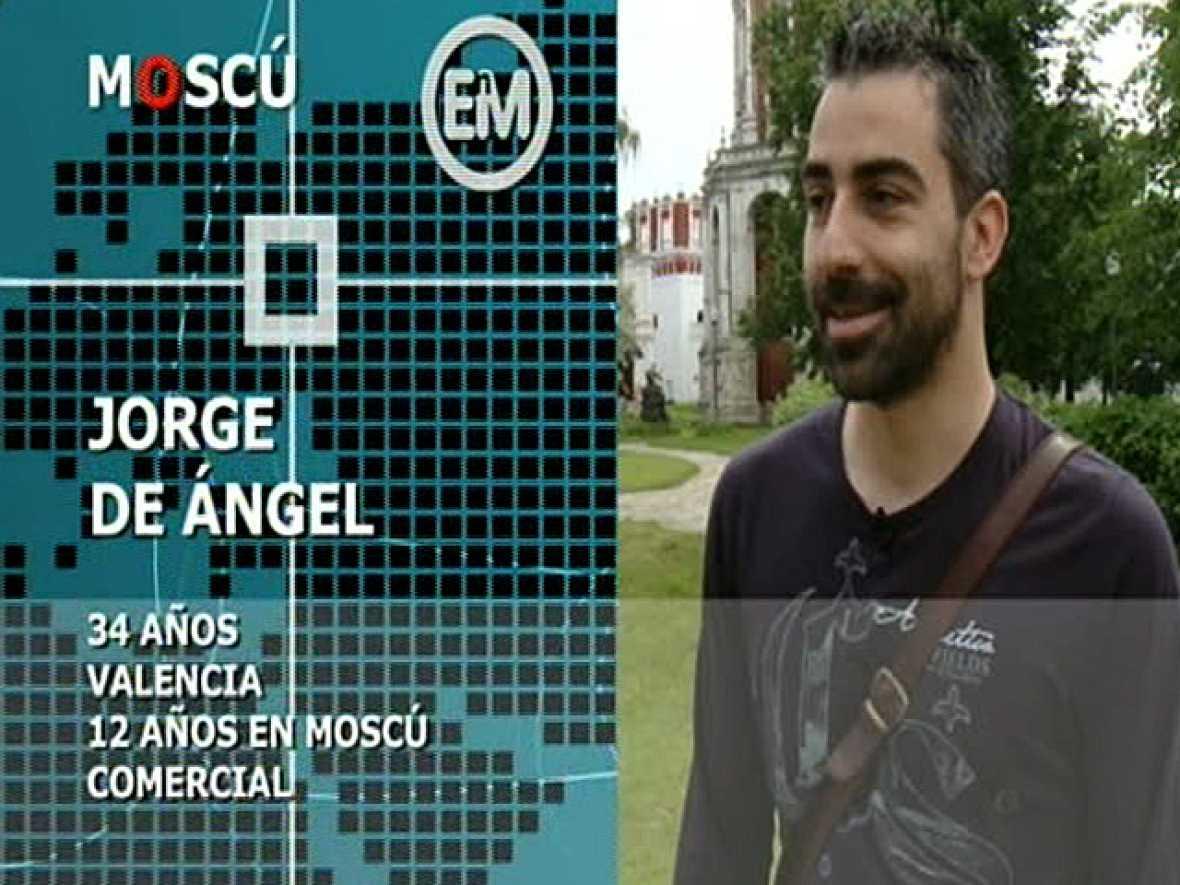 Españoles en Moscú: Jorge